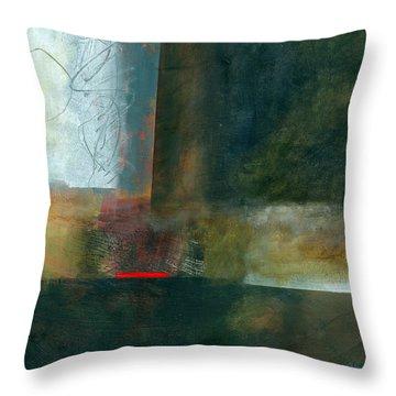 Fresh Paint #8 Throw Pillow by Jane Davies