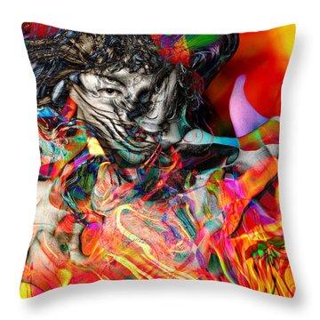 Friday Night Saturday Morning Throw Pillow by Daniel Hagerman