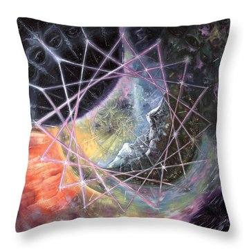From The Inward Outward Throw Pillow by Jerod  Kytah