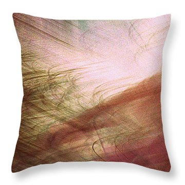 Frond Frenzy Throw Pillow by Randall Weidner