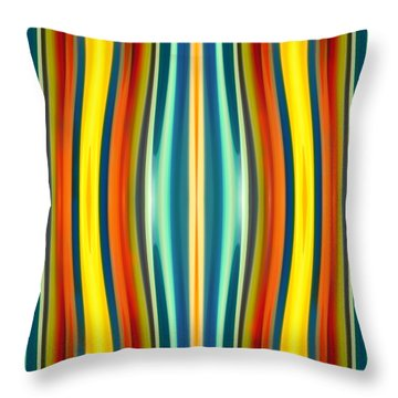 Fury Pattern 1 Throw Pillow by Amy Vangsgard