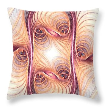 Fusion Throw Pillow by Anastasiya Malakhova