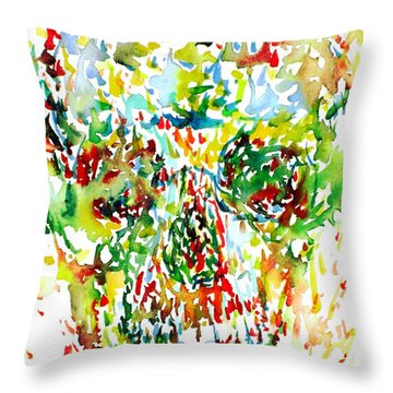 Future City Throw Pillow by Fabrizio Cassetta