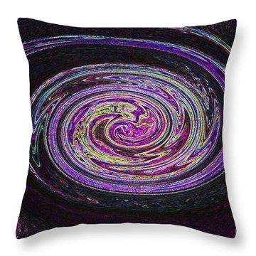 Galaxy Birth 2 Fetal Throw Pillow by First Star Art
