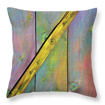 Gateway To Z Universe Throw Pillow by Asha Carolyn Young