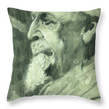 General Lee Throw Pillow by Luis  Navarro
