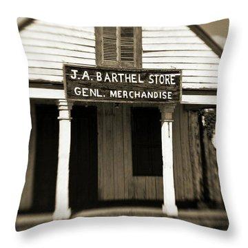 Genl Merchandise Throw Pillow by Scott Pellegrin