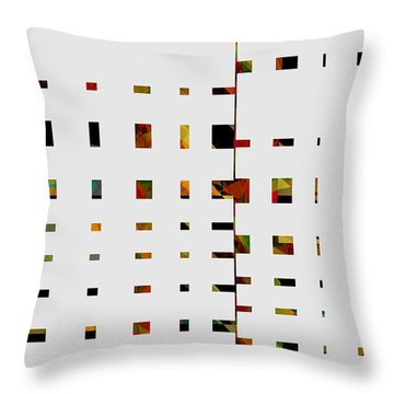 Geometrics -abstract -  Art Throw Pillow by Ann Powell