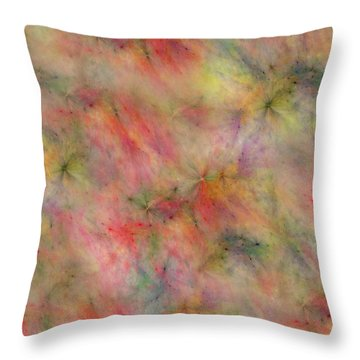 Getting Along Throw Pillow by Betsy Knapp