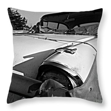 Ghost Under The Sheet Throw Pillow by Garren Zanker