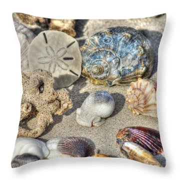 Gifts Of The Tides Throw Pillow by Benanne Stiens