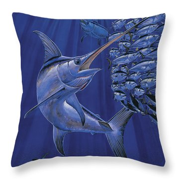 Gladiator Off0080 Throw Pillow by Carey Chen