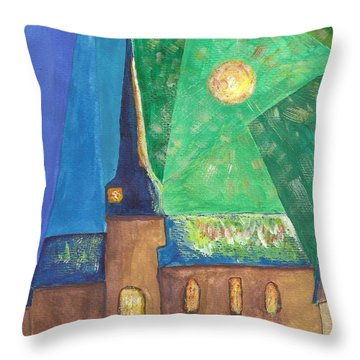 Glemroda Light Of God Throw Pillow by John Williams