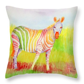 Glory Throw Pillow by Rhonda Leonard