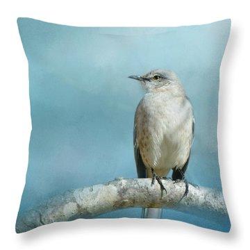 Good Winter Morning Throw Pillow by Jai Johnson