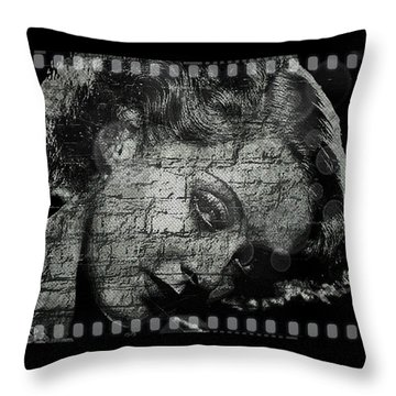Goodbye Classic America Throw Pillow by Absinthe Art By Michelle LeAnn Scott