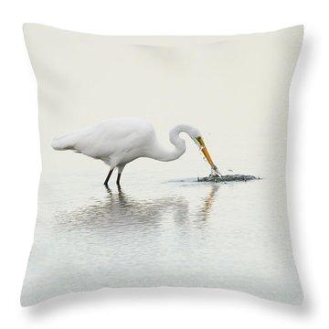 Gotcha Throw Pillow by Karol Livote
