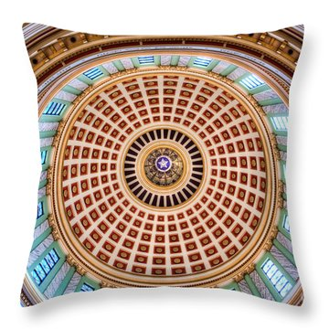 Gov001-12 Throw Pillow by Cooper Ross