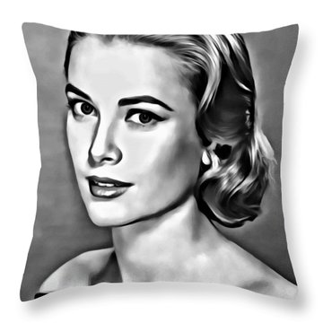 Grace Throw Pillow by Florian Rodarte