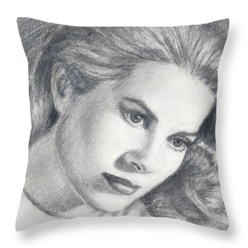 Grace Throw Pillow by Sarah Parks