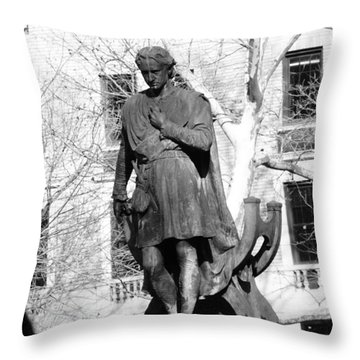 Gramercy Park  Throw Pillow by Jessica Stiles