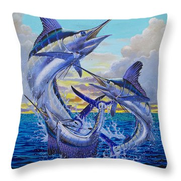Grand Slam Off0016 Throw Pillow by Carey Chen