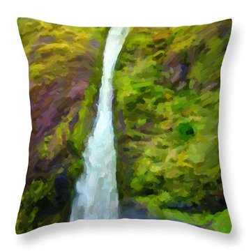 Gravity Throw Pillow by Jon Burch Photography