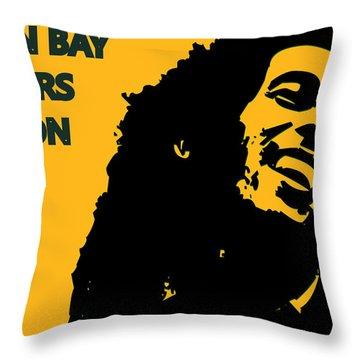 Green Bay Packers Ya Mon Throw Pillow by Joe Hamilton