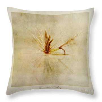 Greenwells Glory Throw Pillow by John Edwards