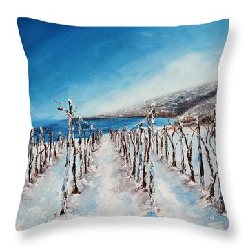 Grounded Throw Pillow by Meaghan Troup