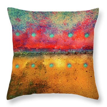 Grounded Throw Pillow by Tara Turner