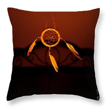 Guardian Throw Pillow by Luke Moore