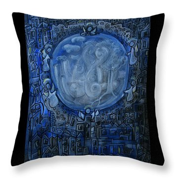 Guardians Of Dreams - Traumwaechter Throw Pillow by Mimulux patricia no