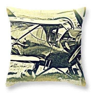 Gwinn Aircar 4 Place Throw Pillow by Hank  Clark