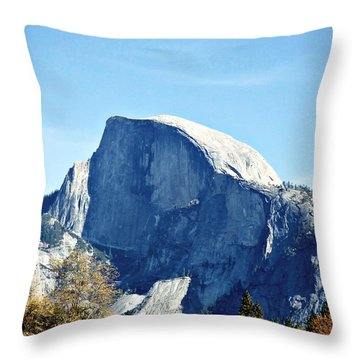 Half Dome Throw Pillow by Richard Reeve