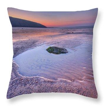 Half Past Yesterday Throw Pillow by Evelina Kremsdorf