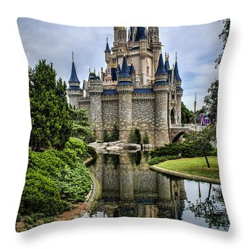 Happily Ever After Throw Pillow by Heather Applegate