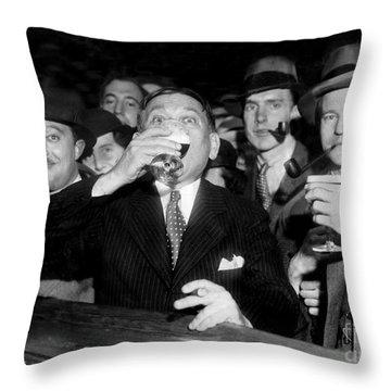 Happy Days Are Here Again Throw Pillow by Jon Neidert