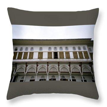Harem Throw Pillow by Shaun Higson