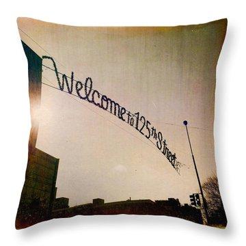 Harlem Throw Pillow by H James Hoff