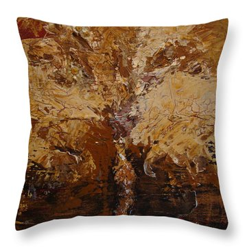 Harvest Throw Pillow by Holly Picano