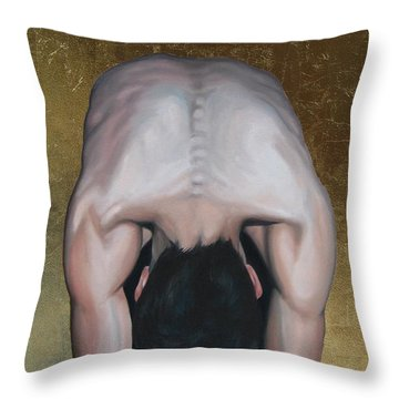 Have Mercy Throw Pillow by Jindra Noewi
