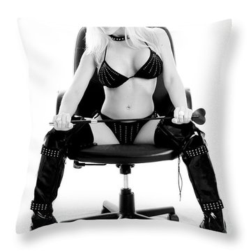 Have You Been Bad Throw Pillow by Jt PhotoDesign