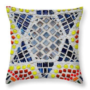 Healing Star Throw Pillow by Lisa Brandel