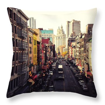 Heart Of It All Throw Pillow by Vivienne Gucwa