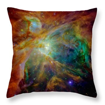 Heart Of Orion Throw Pillow by Benjamin Yeager