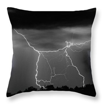 Heavens Gates Happy Easter Throw Pillow by James BO  Insogna