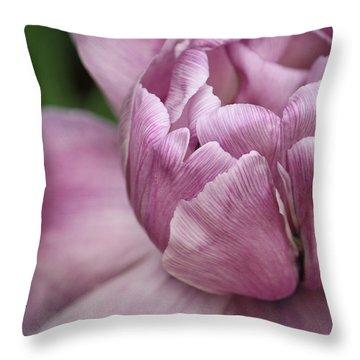 Her Enchanting Ways Throw Pillow by  The Art Of Marilyn Ridoutt-Greene