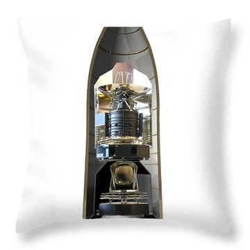 Throw Pillow featuring the photograph Herschel & Planck Launch Configuration by Science Source