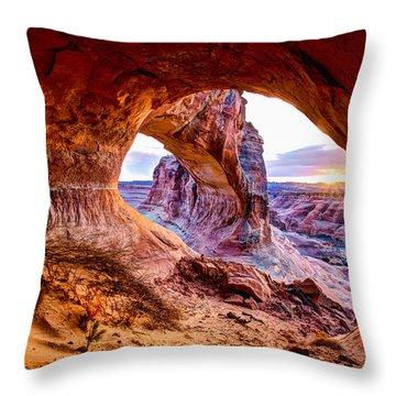 Hidden Alcove Throw Pillow by Chad Dutson